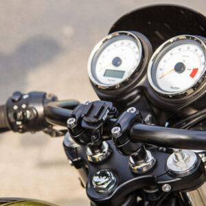 Aluminium bike mount 2