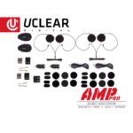 2016_UCLEAR_Amp_Pro_Bluetooth_Motorcycle_Helmet_Audio_System_Dual_Kit
